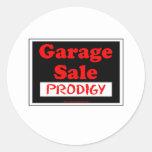 Garage Sale Prodigy Stickers