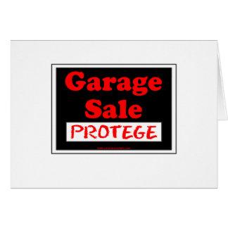 Garage Sale Protege Card