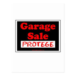 Garage Sale Protege Postcard