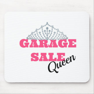 Garage Sale Queen Line Mouse Pad