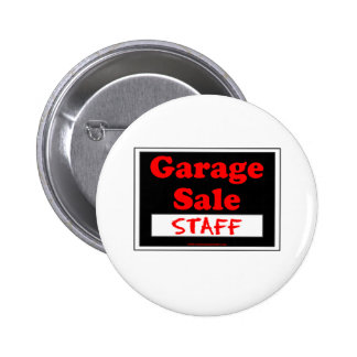 Garage Sale Staff Button