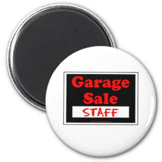 Garage Sale Staff Magnet