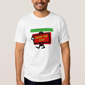 Garage Sale Staff T Shirt