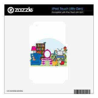Garage Sale Stuff iPod Touch 4G Skins