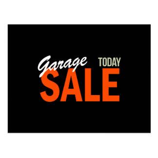 Garage Sale Today Postcard