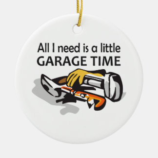 GARAGE TIME CERAMIC ORNAMENT
