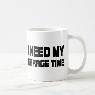 GARAGE TIME CLASSIC WHITE COFFEE MUG