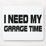 GARAGE TIME MOUSE PAD