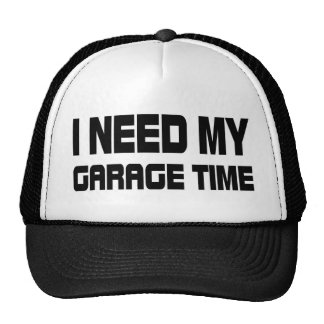 GARAGE TIME TRUCKER HAT