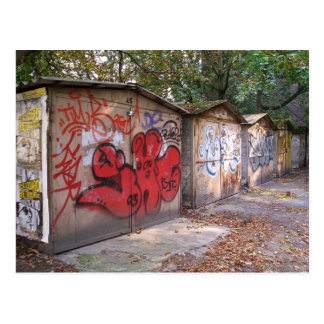 Garages Berlin Prenzlauer Berg Postcards