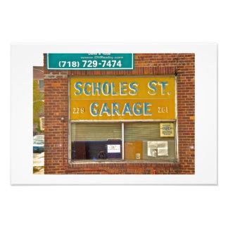 Garaje de Brooklyn Arte Fotografico