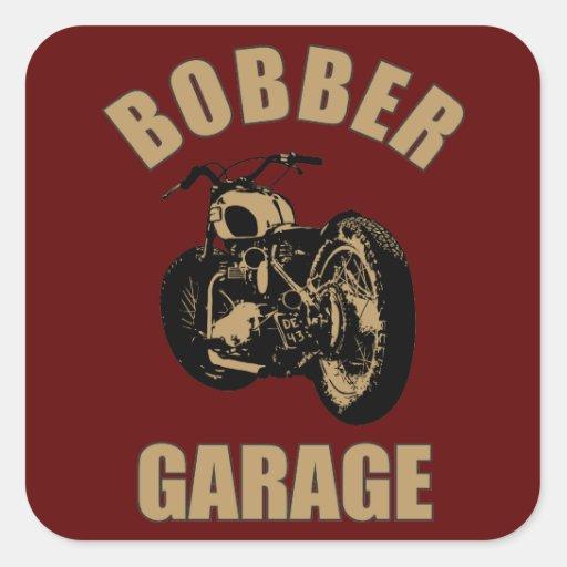 Garaje del Bobber Colcomania Cuadrada