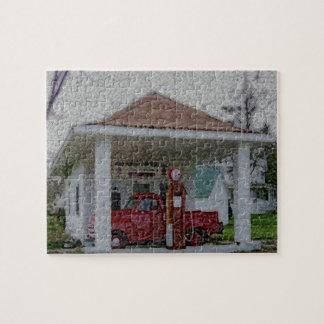 Garaje del servicio completo rompecabeza con fotos