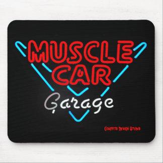 Garaje Mousepad del coche del músculo Alfombrillas De Raton