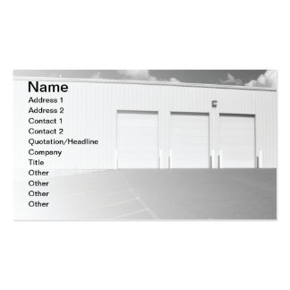 garaje para uso general al aire libre grande tarjetas de visita