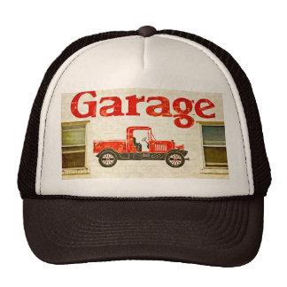 Garaje viejo gorras
