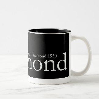 Garamond Mug Lge