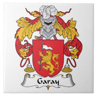 Garay Family Crest Tile