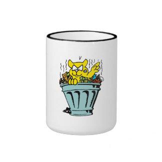 Garbage Cat Ringer Coffee Mug