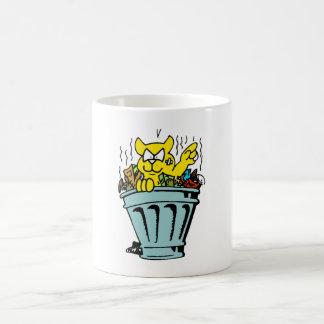 Garbage Cat 11 Oz Magic Heat Color-Changing Coffee Mug