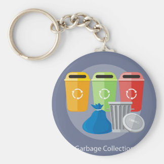 Garbage Collection Keychain