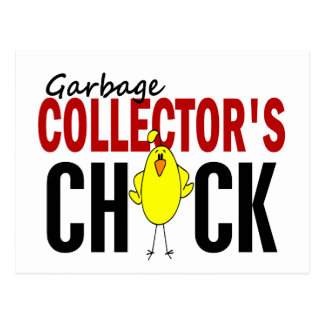 Garbage Collector's Chick 1 Postcard