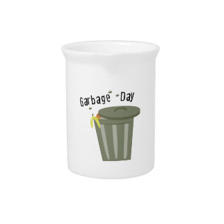 Garbage Day Beverage Pitcher