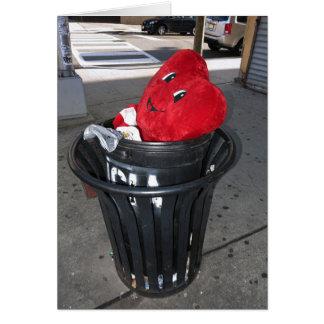 Garbage Heart Anti-Valentine Card