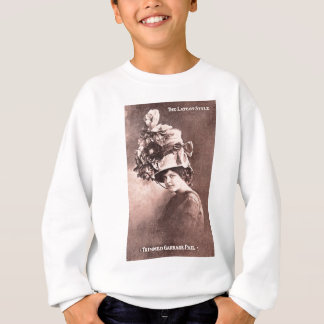 Garbage Lady, Queen of Fashion Sweatshirt