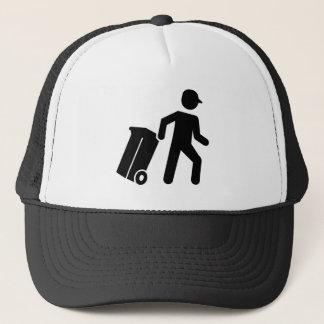 Garbage man trucker hat