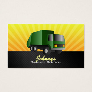 Garbage Removale Business Cards