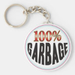 Garbage Tag Keychain