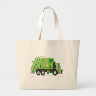Garbage Truck Canvas Bags