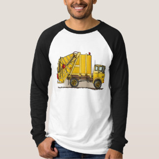 Garbage Truck 2 Construction Adult Shirt