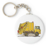 Garbage Truck 2 Construction Key Chain