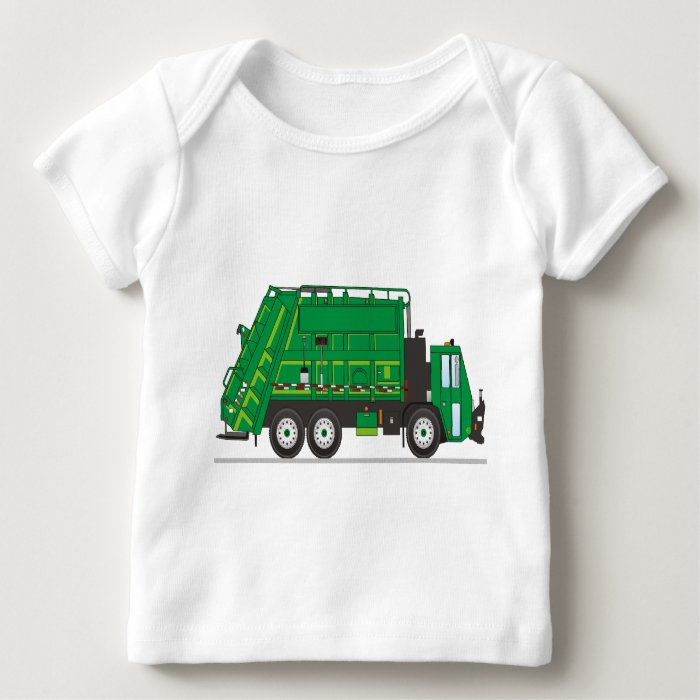 Garbage Truck Baby T-Shirt