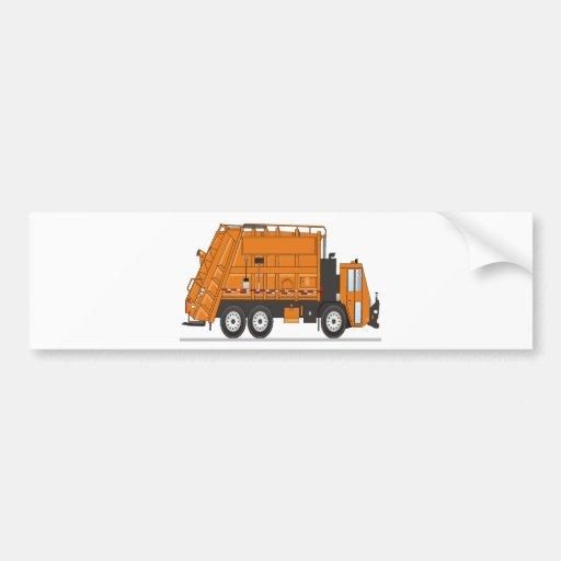 Garbage Truck Bumper Sticker