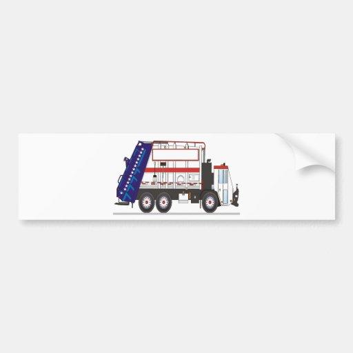 Garbage Truck Car Bumper Sticker