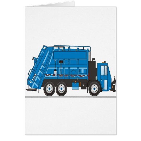 Garbage Truck Card