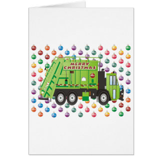 Garbage Truck Christmas Cards
