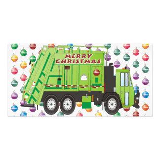 Garbage Truck Christmas Card
