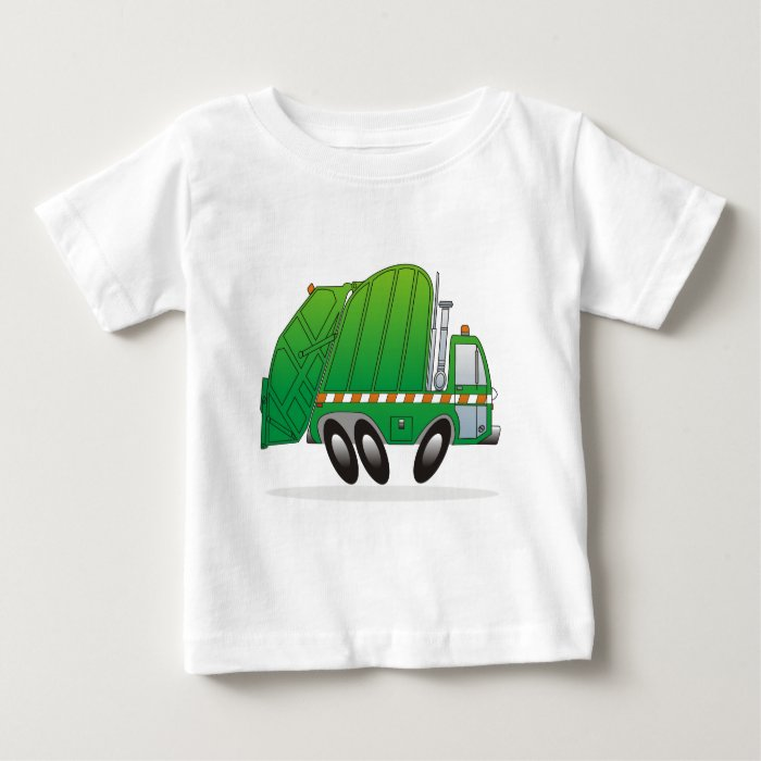 Garbage Truck G Baby T-Shirt