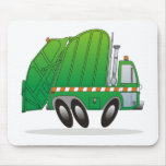 Garbage Truck G Mouse Pad