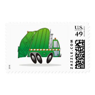 Garbage Truck G Stamp