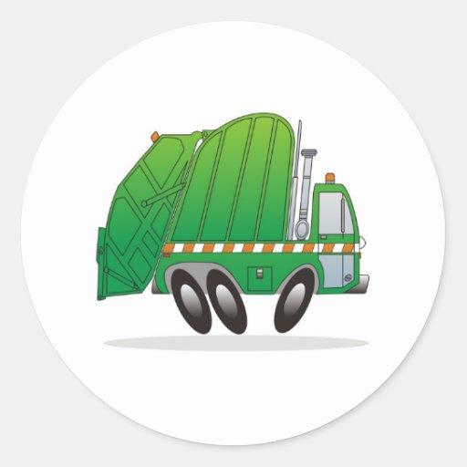 Garbage Truck G Sticker