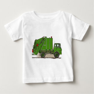 Garbage Truck Green Infant T-Shirt