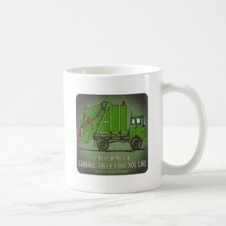 Garbage Truck Green Operator Quote Coffee Mug