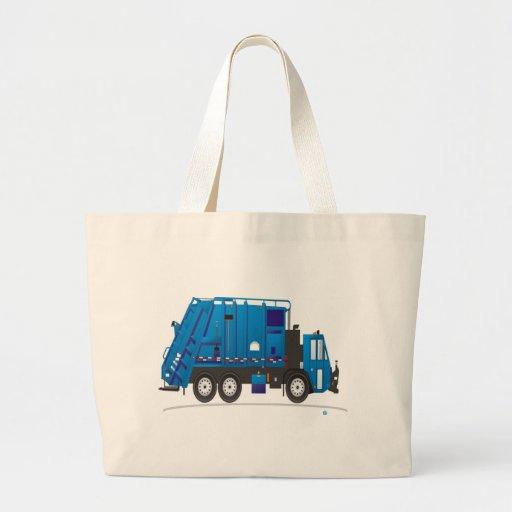 Garbage Truck Jumbo Tote Bag