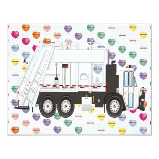 Garbage Truck Love Card