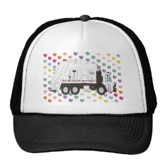 Garbage Truck Love Trucker Hat